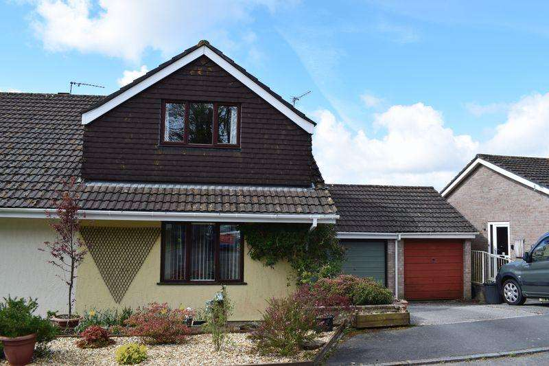2 Bedrooms Semi Detached House for sale in Liskeard, Cornwall