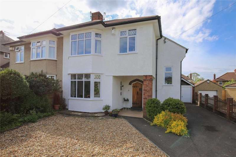 4 Bedrooms Semi Detached House for sale in Cote Park, Westbury-On-Trym, Bristol, BS9