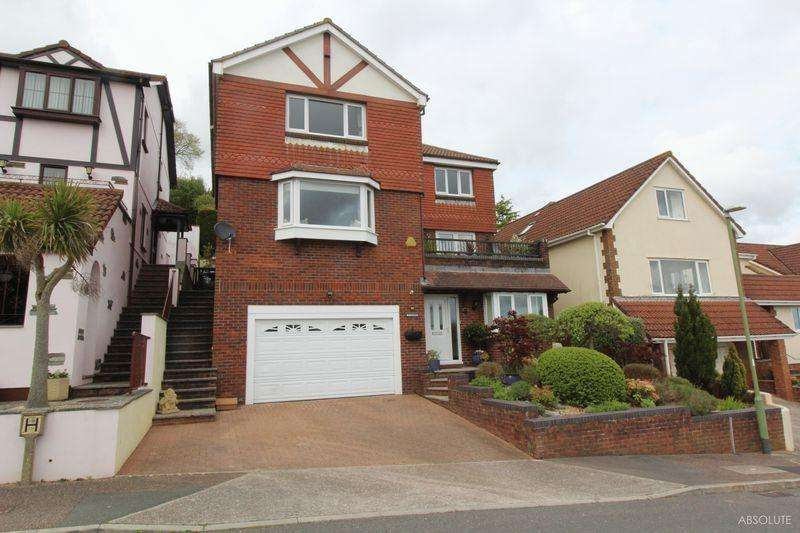 4 Bedrooms Detached House for sale in Dolphin Crescent, Paignton