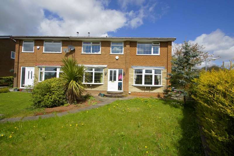 4 Bedrooms Semi Detached House for sale in Avebury Close, Horwich