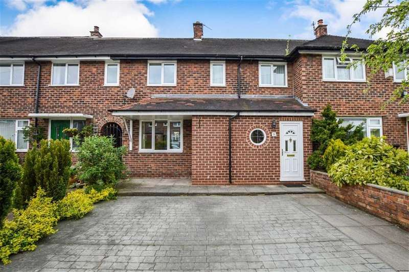 4 Bedrooms Terraced House for sale in Meadow Avenue, Hale, Cheshire, WA15