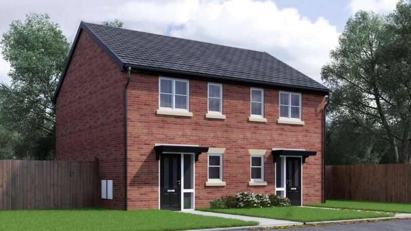2 Bedrooms Mews House for sale in Hough Fold Way, Harwood