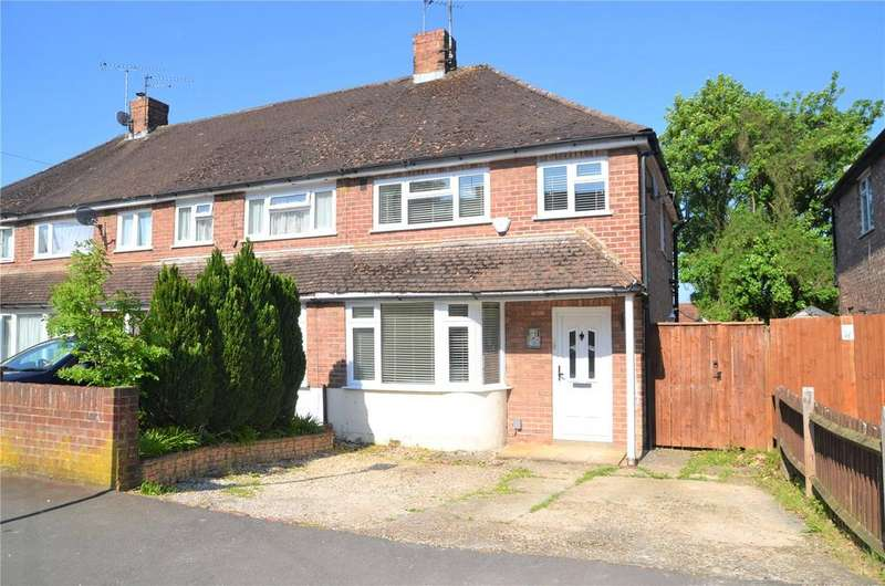 3 Bedrooms End Of Terrace House for sale in Thirlmere Avenue, Tilehurst, Reading, Berkshire, RG30