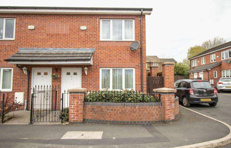 2 Bedrooms Semi Detached House for sale in Bulrush Close, Walkden, Manchester, M28 3GT