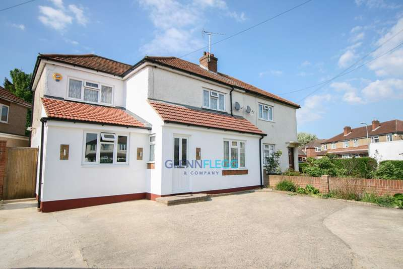 4 Bedrooms Semi Detached House for sale in Howard Avenue, Slough -