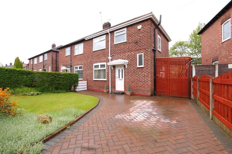 3 Bedrooms Semi Detached House for sale in Moorfield Avenue, Denton, Manchester, M34