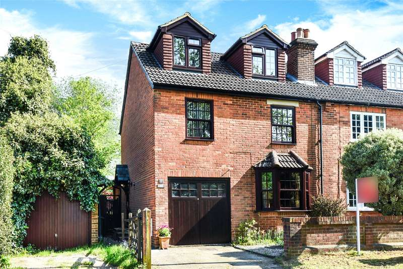 4 Bedrooms Semi Detached House for sale in Wellington Road, Crowthorne, Berkshire, RG45