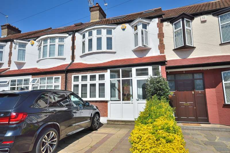 4 Bedrooms Terraced House for sale in Blakesware Gardens, London, Greater London. N9