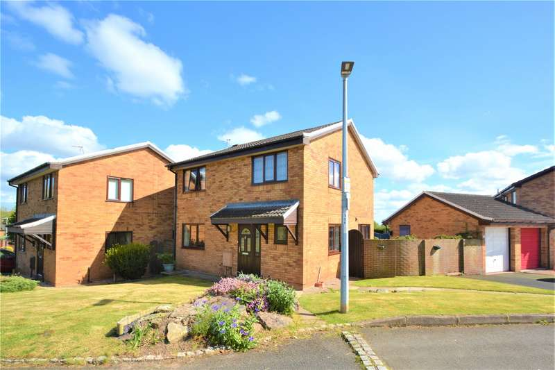 4 Bedrooms Detached House for sale in 18 Carnoustie Drive, Sutton Hill, Telford, TF7