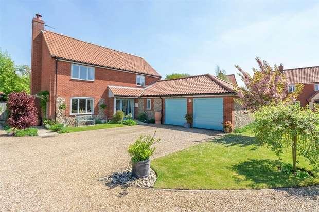 4 Bedrooms Detached House for sale in Cobblestones, Mileham