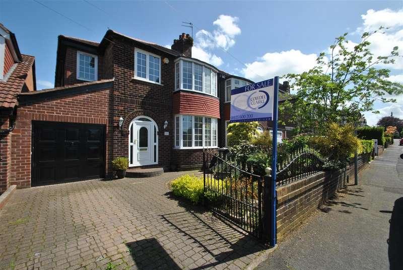 4 Bedrooms Semi Detached House for sale in Kildonan Road, GRAPPENHALL, Warrington, WA4