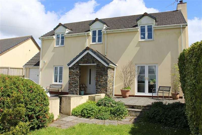 4 Bedrooms Detached House for sale in Jeffreyston, Kilgetty