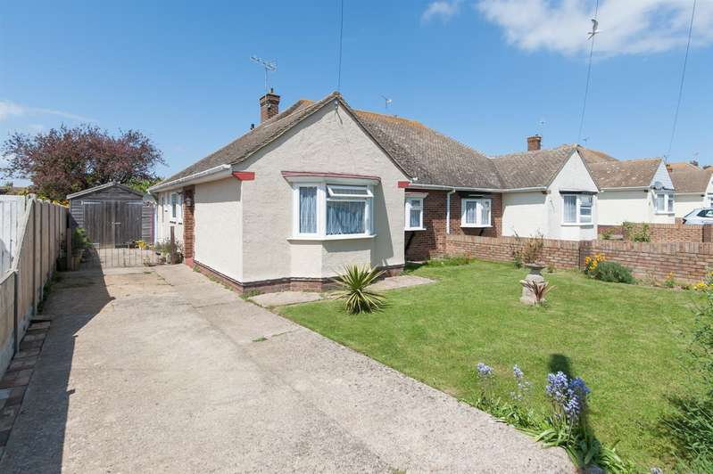 2 Bedrooms Semi Detached Bungalow for sale in Lancaster Gardens, BIRCHINGTON