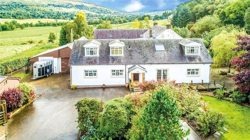 3 Bedrooms Detached House for sale in White Gables, Killearn Road, Fintry