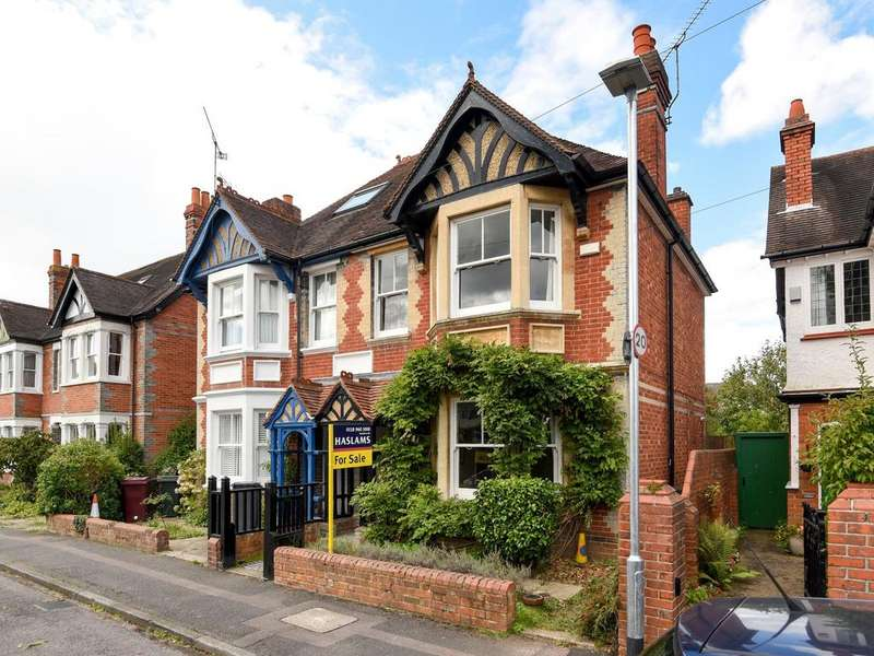 4 Bedrooms Semi Detached House for sale in Belle Avenue, Reading, RG6