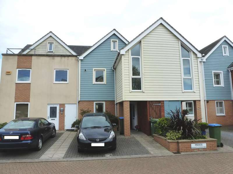4 Bedrooms Town House for rent in Earl Godwin Close, Fareham PO16