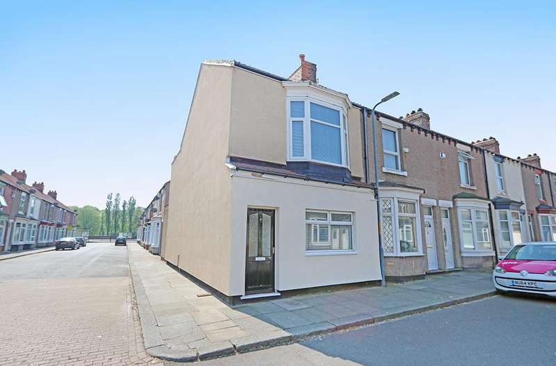 3 Bedrooms End Of Terrace House for sale in Henry Street, Middlesbrough TS3
