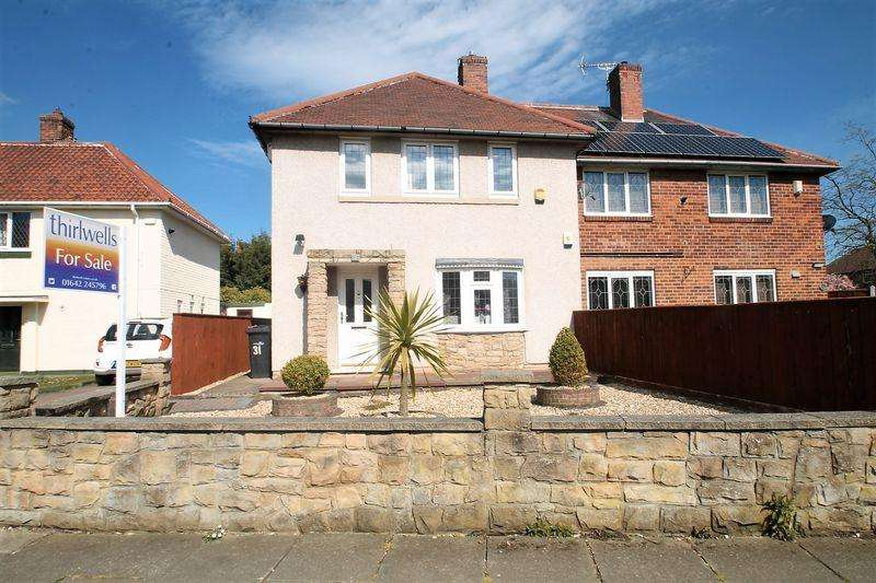 3 Bedrooms Semi Detached House for sale in Pemberton Crescent, Beechwood