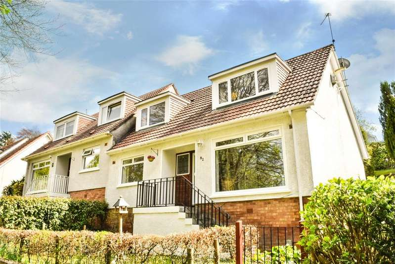 3 Bedrooms Semi Detached House for sale in Kilmardinny Crescent, Bearsden