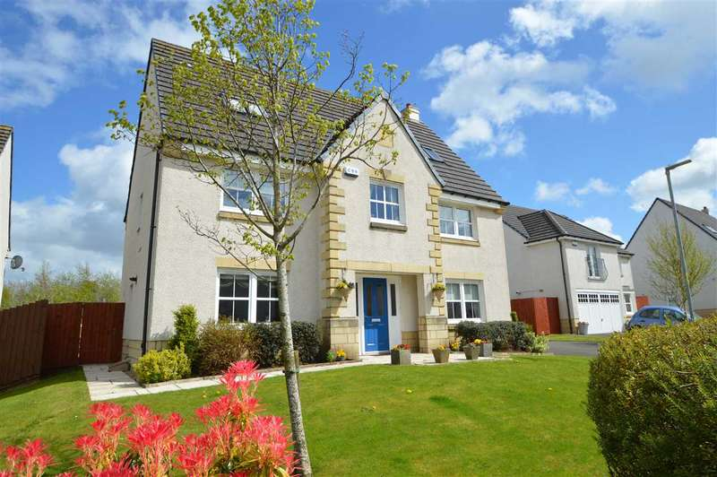 6 Bedrooms Detached House for sale in East Nerston Grove, Nerston Village, East Kilbride