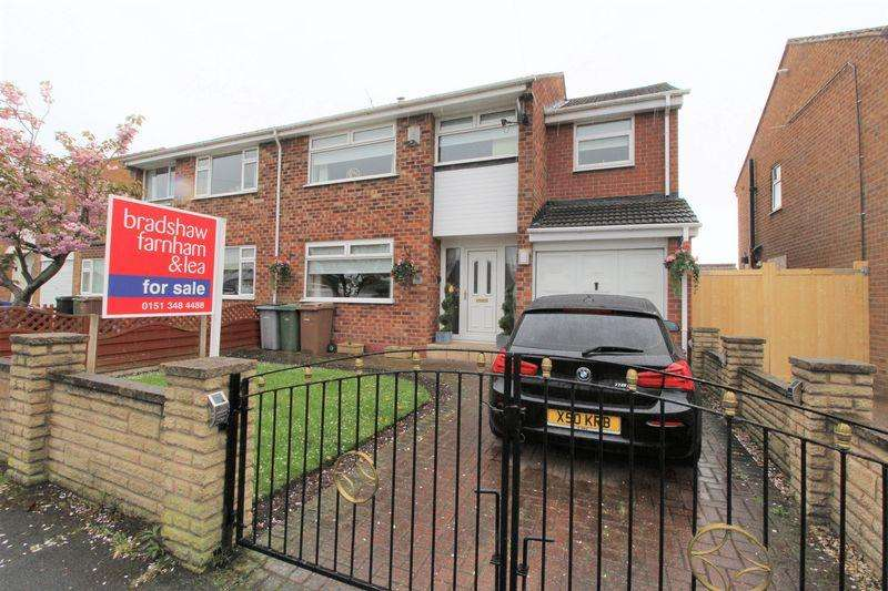 4 Bedrooms Semi Detached House for sale in Dorset Drive, Pensby