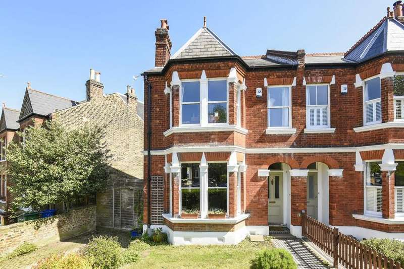 3 Bedrooms End Of Terrace House for sale in Woodwarde Road, Dulwich
