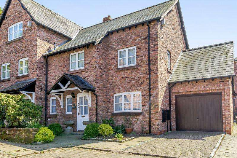 3 Bedrooms Semi Detached House for sale in Central Tarporley