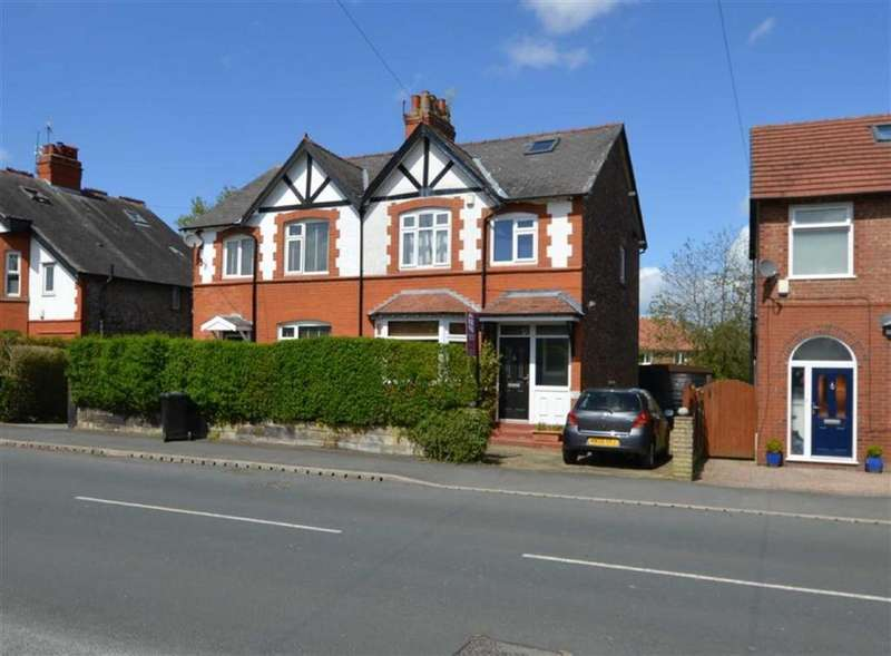 3 Bedrooms Semi Detached House for sale in Grove Lane, Hale, Cheshire, WA15