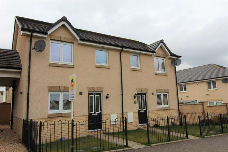3 Bedrooms Semi Detached House for sale in Russell Place, Wester Inch Estate, Bathgate, EH48