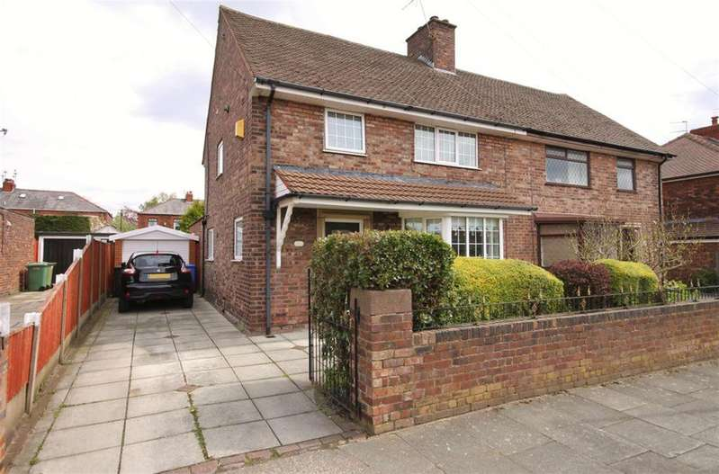 3 Bedrooms Semi Detached House for sale in Sandringham Road, Widnes, WA8 9HD