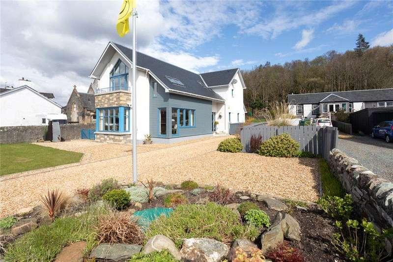4 Bedrooms Detached House for sale in Riviera, Strone, Dunoon, Argyll and Bute