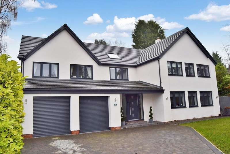 4 Bedrooms Detached House for sale in Stonehaugh Way, Darras Hall, Ponteland, Newcastle upon Tyne, NE20