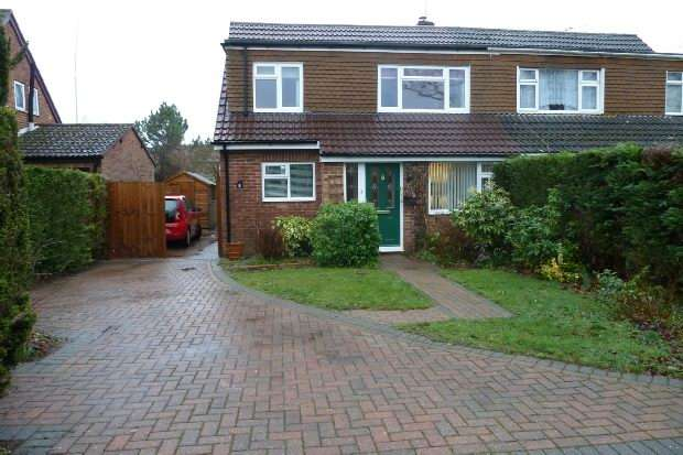 4 Bedrooms Semi Detached House for sale in Stephens Road, Mortimer Common, Reading