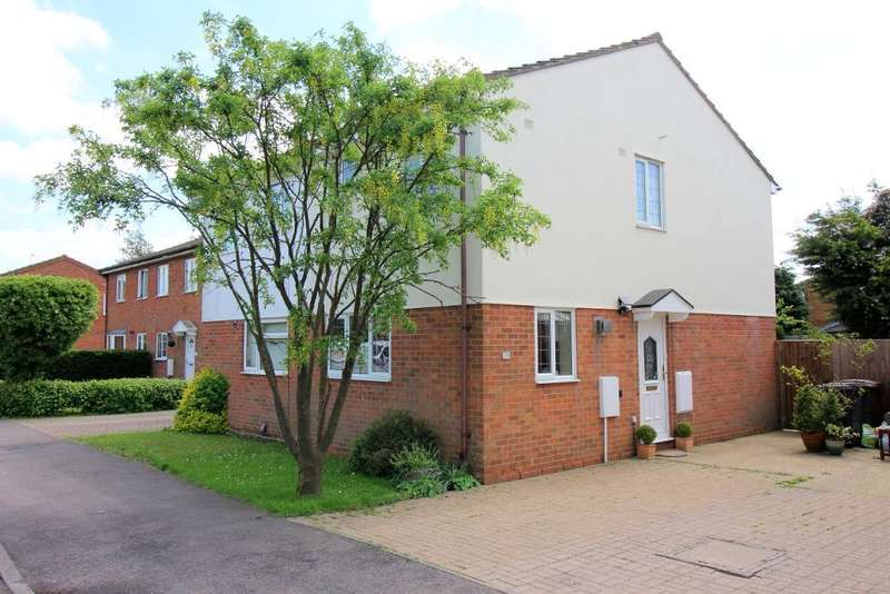 2 Bedrooms Semi Detached House for sale in Hedley Rise, Luton, Bedfordshire, LU2 9UD