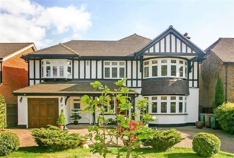 4 Bedrooms Detached House for sale in Great Woodcote Park, Purley, Surrey