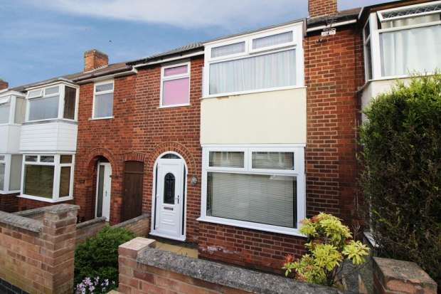 3 Bedrooms Terraced House for sale in Percy Road, Leicester, Leicestershire, LE2 8FN