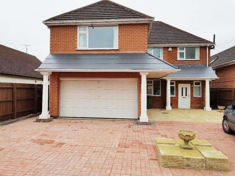 5 Bedrooms Detached House for sale in Hinckley Road, Leicester LE3