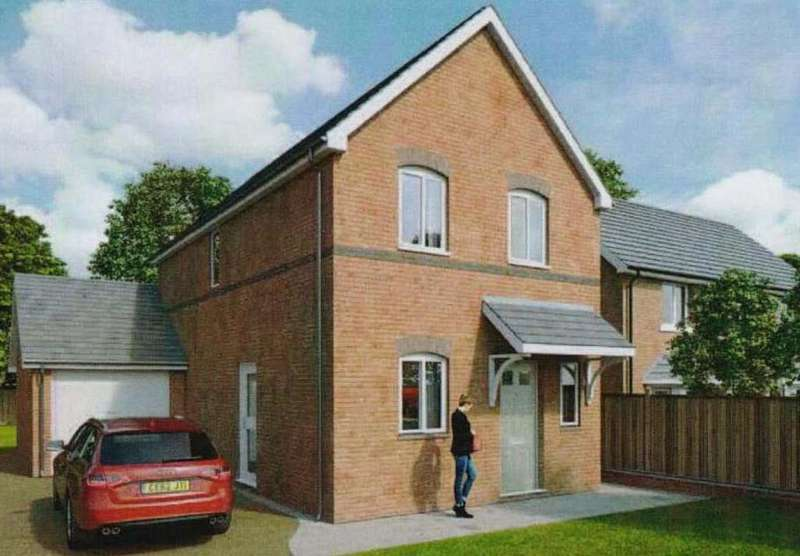 3 Bedrooms Detached House for sale in Stansty Walks, Wrexham