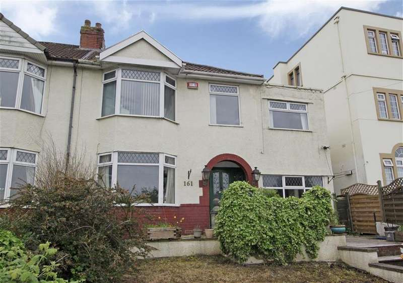 4 Bedrooms Semi Detached House for sale in West Town Lane, Knowle, Bristol