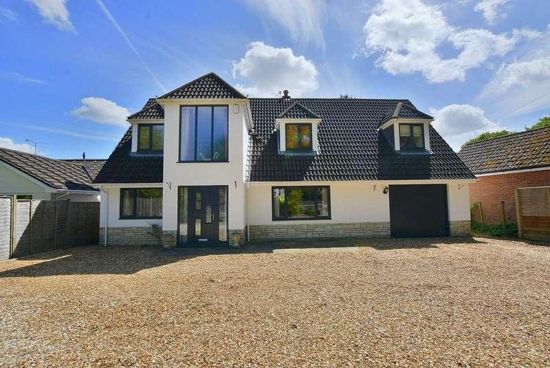 4 Bedrooms Detached House for sale in St Stephens Lane, Verwood