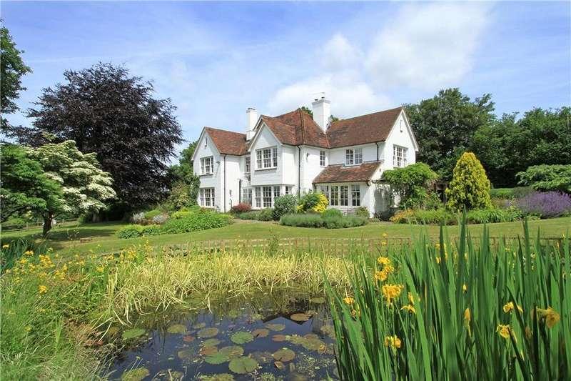 6 Bedrooms Detached House for sale in Frensham Lane, Headley, Bordon, Hampshire, GU35