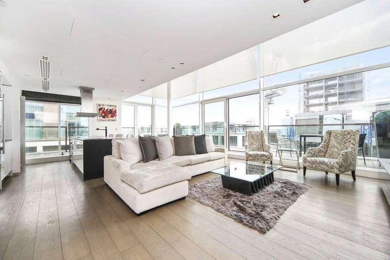 3 Bedrooms Penthouse Flat for rent in Wolfe House, 389 Kensington High Street, Kensington, London, W14
