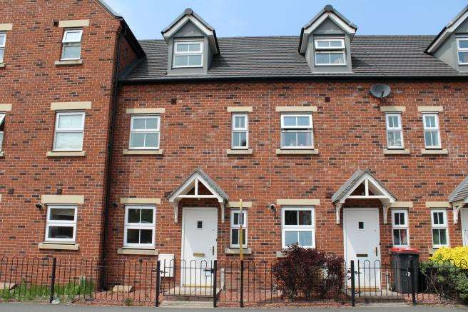 3 Bedrooms Terraced House for rent in 36 Chancery Court, Newport, Shropshire, TF10 7GA