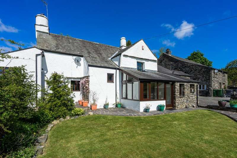 4 Bedrooms Farm House Character Property for sale in Fiddler Hall, Newby Bridge, Nr Ulverston, Cumbria, LA12 8NQ.