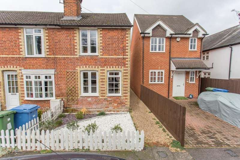 2 Bedrooms Cottage House for sale in VICTORIAN COTTAGE. CHURCH ROAD, CHAVEY DOWN, ASCOT, BERKSHIRE, SL5 8RR