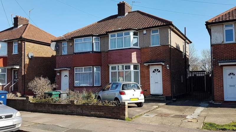3 Bedrooms Semi Detached House for sale in New Way Road, Colindale