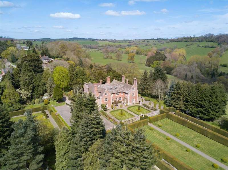 5 Bedrooms Detached House for sale in Plaish, Church Stretton, Shropshire, SY6