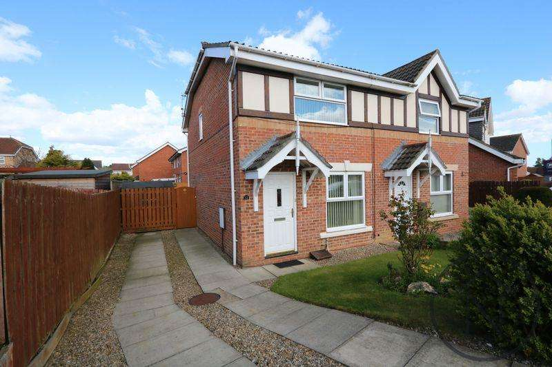 3 Bedrooms Semi Detached House for sale in Epsom Court, Woodham, Newton Aycliffe