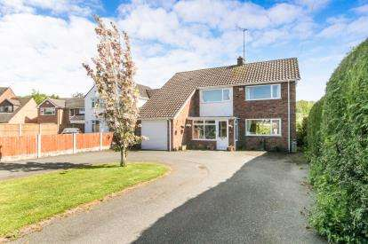 4 Bedrooms Detached House for sale in Vicarage Fields, Ruabon, Wrexham, Wrecsam, LL14