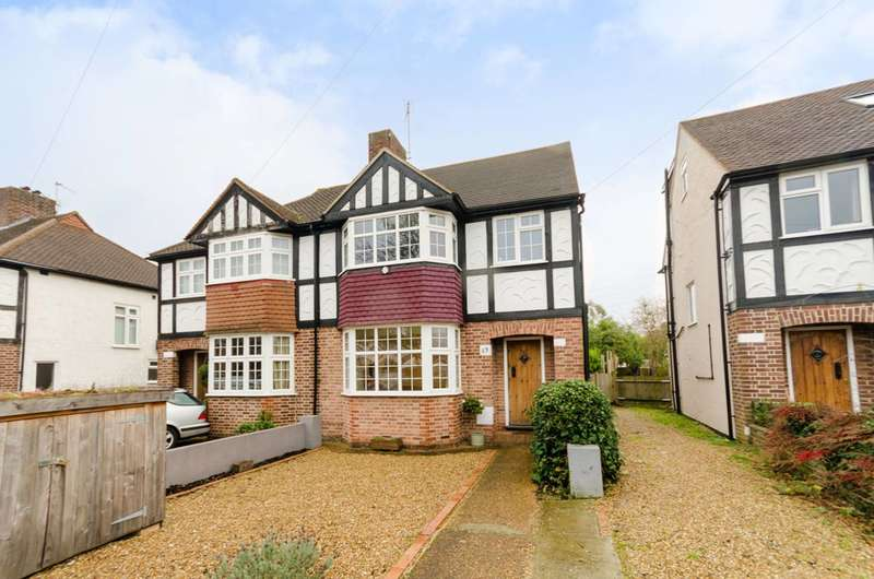 4 Bedrooms Semi Detached House for rent in Ancaster Crescent, Motspur Park, KT3